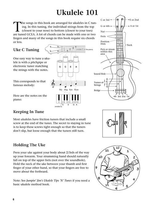The Daily Ukulele 365 Songs For Better Living Sheet Music Hal