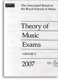 2007 Theory of Music Exams, Grade 2