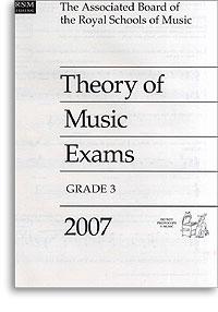 2007 Theory of Music Exams, Grade 3