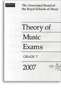 2007 Theory of Music Exams, Grade 7