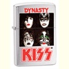 Music Zippo Lighters - Kiss Dynasty (brushed chrome)