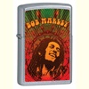 Music Zippo Lighters - Bob Marley (street chrome)