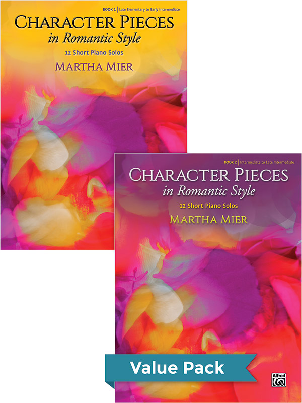 Character Pieces in Romantic Style, Books 1-2 (Value Pack) (Value Pack)