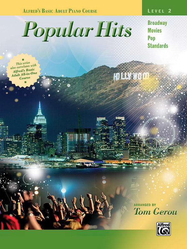Alfred's Basic Adult Piano Course: Popular Hits, Level 2 (Book)