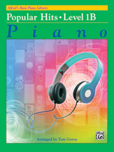 Alfred's Basic Piano Library: Popular Hits, Level 1B (Book)