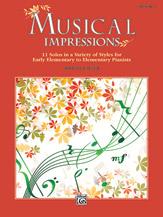 Musical Impressions, Book 1 (Book)