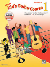 Alfred's Kid's Guitar Course 1 (Book & Online Audio)