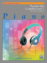 Alfred's Basic Piano Library: Popular Hits Complete Level 1 (1A/1B) (Book)