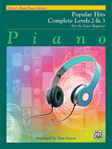 Alfred's Basic Piano Library: Popular Hits Complete Levels 2 & 3 (Book)