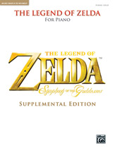 The Legend of ZeldaÖ: Symphony of the Goddesses (Supplemental Edition) - Piano Solos - Piano Solo (Book)