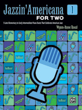 Jazzin' Americana for Two, Book 1 (Book)