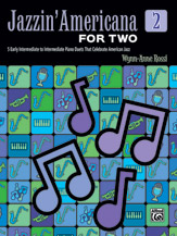 Jazzin' Americana for Two, Book 2 (Book)