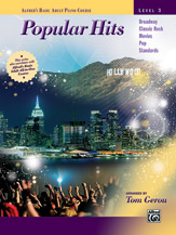 Alfred's Basic Adult Course: Popular Hits, Level 3 (Book)