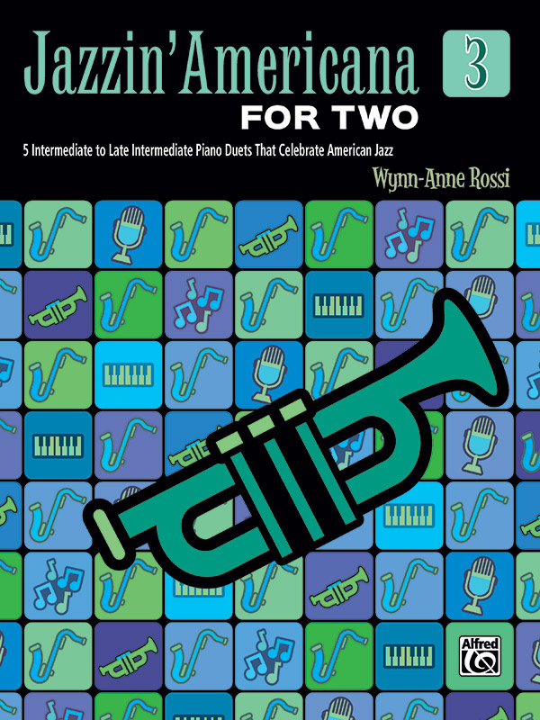 Jazzin' Americana for Two, Book 3 (Book)