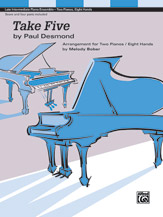 Take Five (2p, 8h) - score & 4 parts included (Sheet)