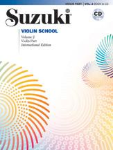 Suzuki Violin School, Volume 2 (Book & CD)