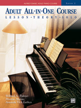 Alfred's Basic Adult All-in-One Piano Course - Level 2, Book only