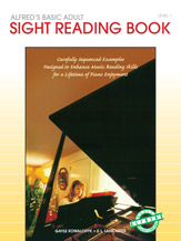 Alfred's Basic Adult Piano Course - Sight Reading Book Level 1