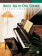 Alfred's Basic Adult All-in-One Piano Course - Level 3