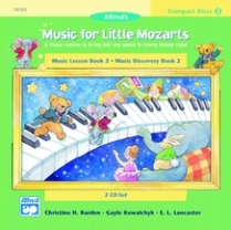 Music for Little Mozarts - CDs for Book 2