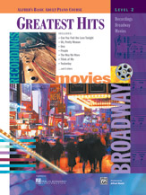 Alfred's Basic Adult Piano Course - Greatest Hits Level 2, Book only