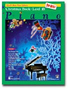 Alfred's Basic Piano Library - Top Hits! Christmas Book Level 1B