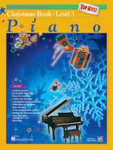 Alfred's Basic Piano Library - Top Hits! Christmas Book Level 3
