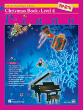 Alfred's Basic Piano Library - Top Hits! Christmas Book Level 4