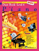 Alfred's Basic Piano Library - Top Hits! Duet Book Level 4