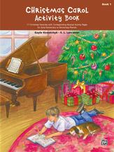 Christmas Carol Activity Book - Book 1