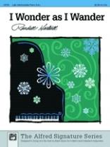 I Wonder as I Wander - Arr. by Hartsell