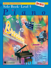 Alfred's Basic Piano Library - Top Hits! Solo Book Level 5