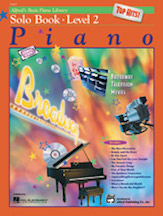 Alfred's Basic Piano Library - Top Hits! Solo Book & CD Level 2