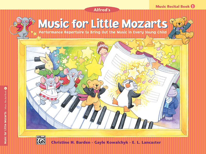 Music for Little Mozarts - Recital Book 1