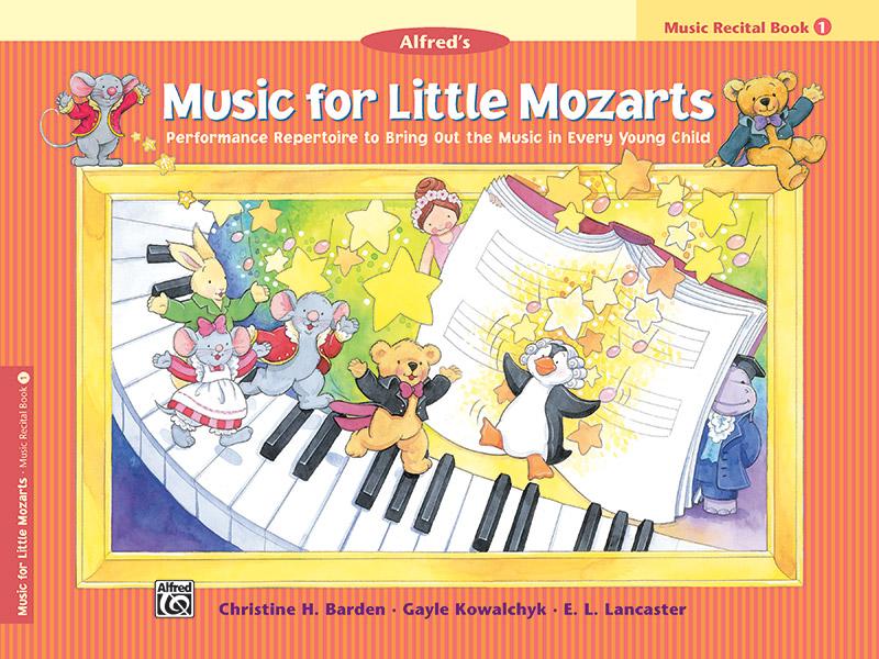 Music for Little Mozarts - Recital Book 1