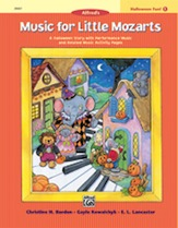 Music for Little Mozarts - Halloween Fun Book 1