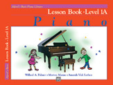 Alfred's Basic Piano Course - Lesson Book Level 1A Sheet Music by Willard Palmer, Morton Manus, Amanda Vick Lethco - Alfred Publishing Company - Prima Music Cover