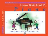 Alfred's Basic Piano Course - Lesson Book Level 1A Sheet Music by Willard Palmer, Morton Manus, Amanda Vick Lethco - Alfred Publishing Company - Prima Music Cover