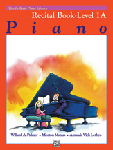Alfred's Basic Piano Library - Recital Book Level 1A