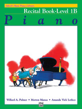 Alfred's Basic Piano Library - Recital Book Level 1B