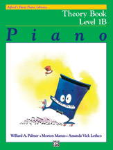 Alfred's Basic Piano Library - Theory Book Level 1B