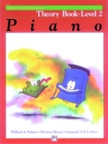 Alfred's Basic Piano Library - Theory Book Level 2