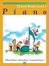 Alfred's Basic Piano Library - Theory Book Level 3