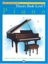 Alfred's Basic Piano Library - Theory Book Level 5