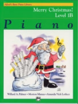 Alfred's Basic Piano Library - Merry Christmas! Book Level 1B