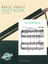 Alfred's Basic Adult Piano Course - Duet Book Level 1