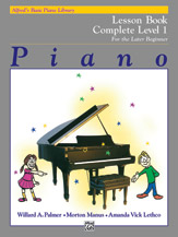 Alfred's Basic Piano Library - Lesson Book Complete Level 1 (1A/1B)