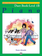 Alfred's Basic Piano Library - Duet Book Level 1B