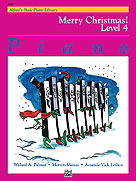 Alfred's Basic Piano Library - Merry Christmas! Book Level 4