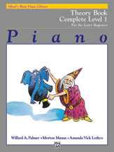 Alfred's Basic Piano Library - Theory Book Complete Level 1 (1A/1B)